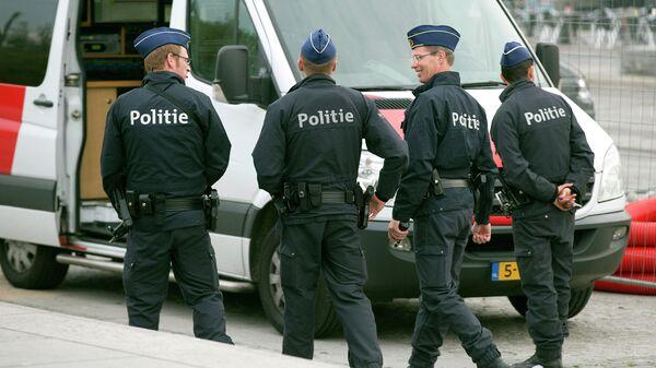 Полиция Бельгии, архивное фото