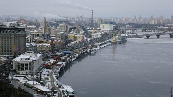 Вид Киева. Архивное фото.