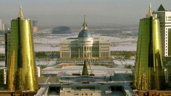 Вид на Астану, столицу Казахстана. Архивное фото