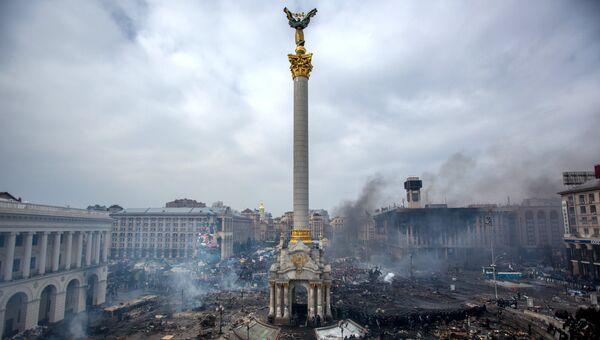 Площадь Независимости в Киеве. Архивное фото.
