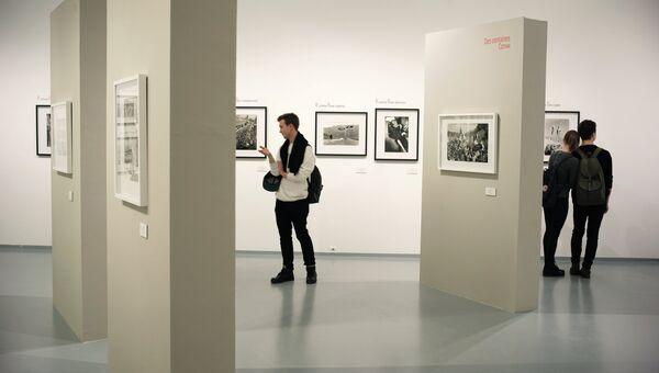 Открытие фотовыставок в Мультимедиа Арт Музее в Москве