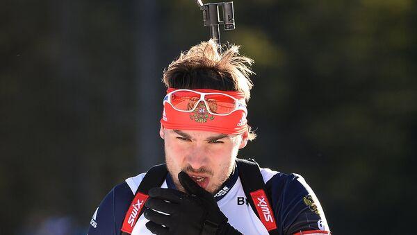 Российский биатлонист Антон Шипулин. Архивное фото