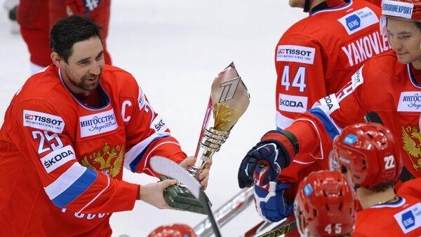 Хоккей. Кубок Первого канала. Награждение