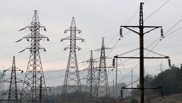 Мобильные ГТЭС - газотурбинные электростанции - в Севастополе. Архивное фото