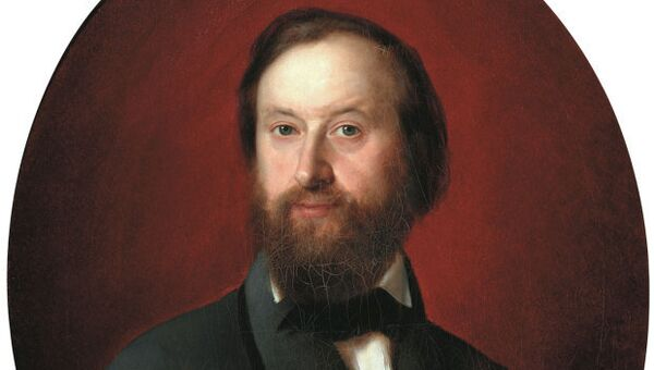 Портрет Козьмы Терентьевича Солдатенкова 1857