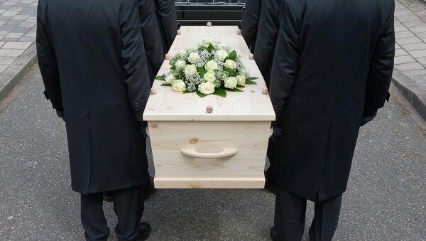 Похороны. Архивное фото