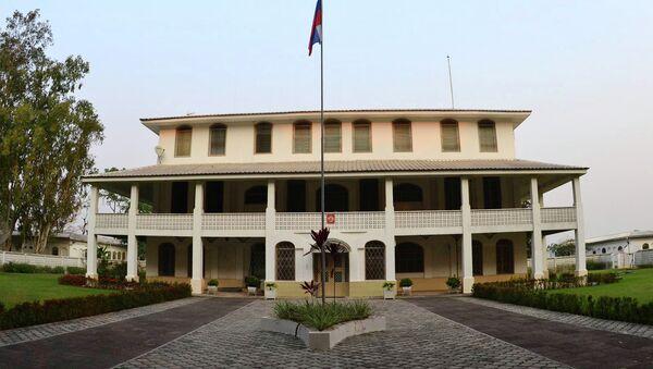 Здание посольства России в Республике Конго