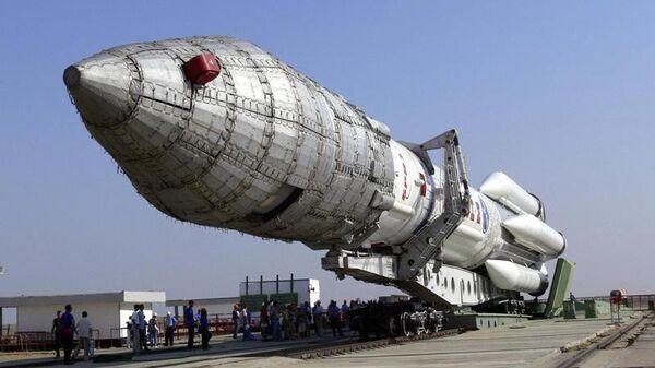 Ракета-носитель тяжелого класса Ангара-А5. Архивное фото
