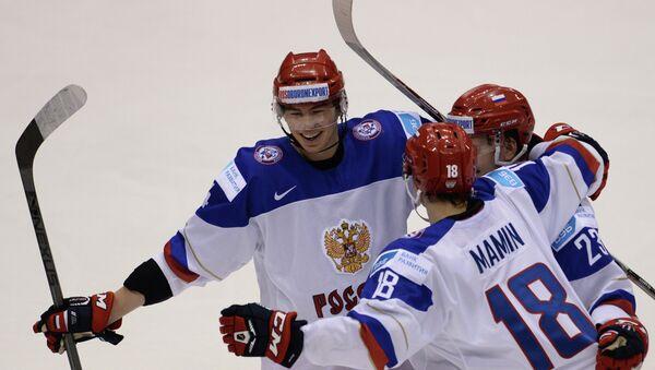 Хоккей. Молодежный ЧМ. Матч Швейцария - Россия