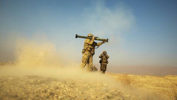 Солдаты ВС США в Афганистане 30 декабря 2014