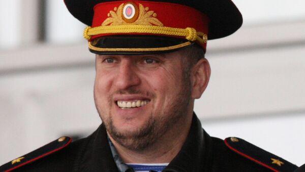 Заместитель министра внутренних дел Чечни Апти Алаудинов. Архивное фото