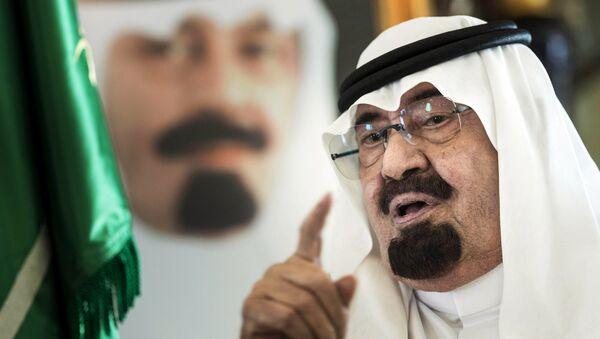 Шестой король Саудовской Аравии Абдалла бен Абдель Азиз Аль Сауд. Архивное фото