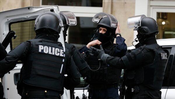 Полиция Франции. Архивное фото