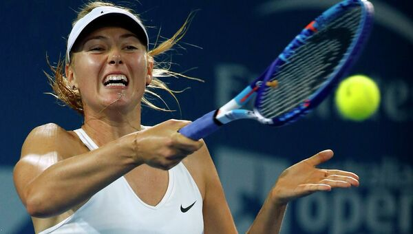 Мария Шарапова стала победительницей теннисного турнира в Брисбене