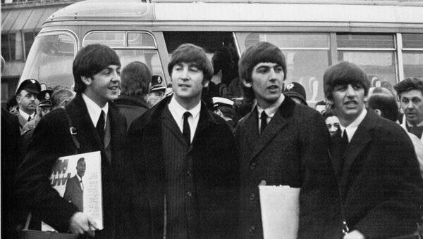 Группа The Beatles. Архивное фото