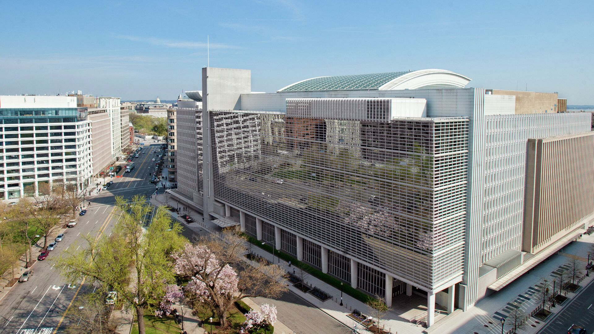 Здание Всемирного банка в Вашингтоне - РИА Новости, 1920, 06.07.2020