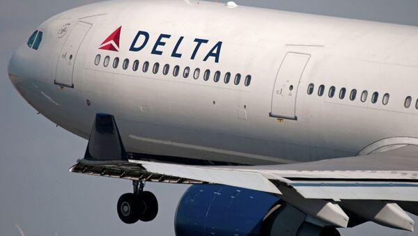 Американский самолет Delta Air Lines