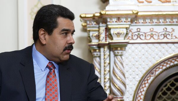 Президент Боливарианской Республики Венесуэла Николас Мадуро, архивное фото