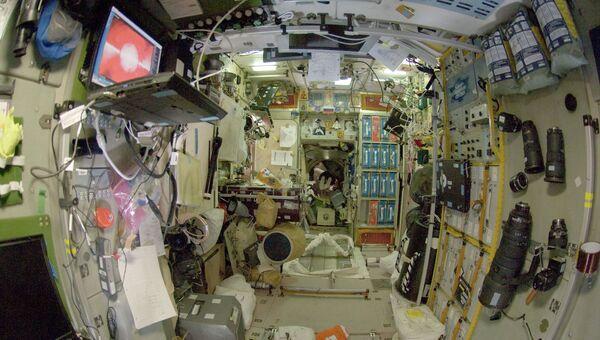 Модуль Звезда международной космической станции. Архивное фото