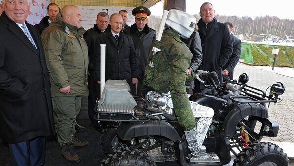 Президент РФ В.Путин посетил центральный научно-исследовательский институт точного машиностроения. Архивное фото