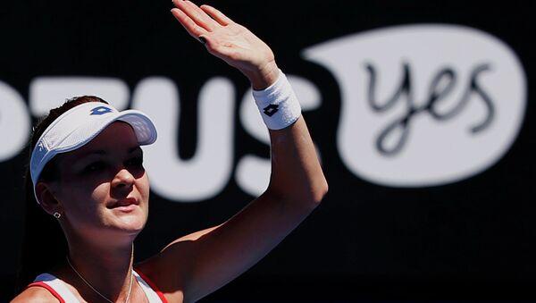 Польская теннисистка Агнешка Радваньская вышла в третий круг Открытого чемпионата Австралии. 22 января 2015
