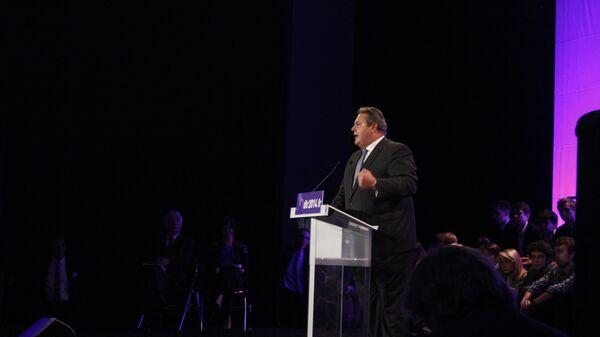 Лидер партии Независимые греки (АНЭЛ) Панос Камменос