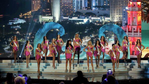 Участницы конкурса красоты Мисс Вселенная, архивное фото