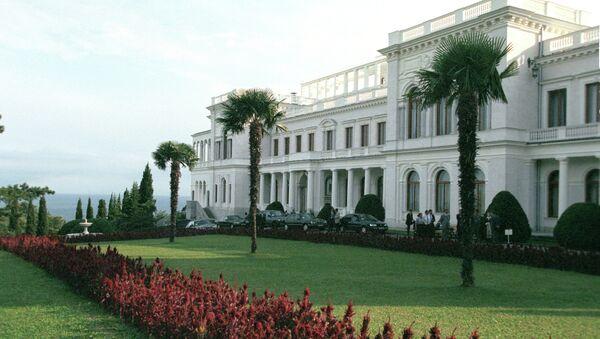 Ливадийский дворец в Крыму, архивное фото