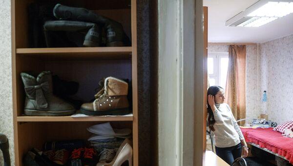 Студенты в общежитии. Архивное фото