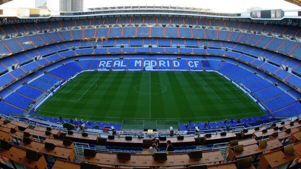 Стадион Сантьяго Бернабеу в Мадриде. Архивное фото