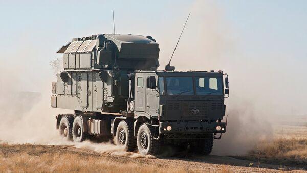 Зенитно-ракетный комплекс Тор М2КМ. Архивное фото