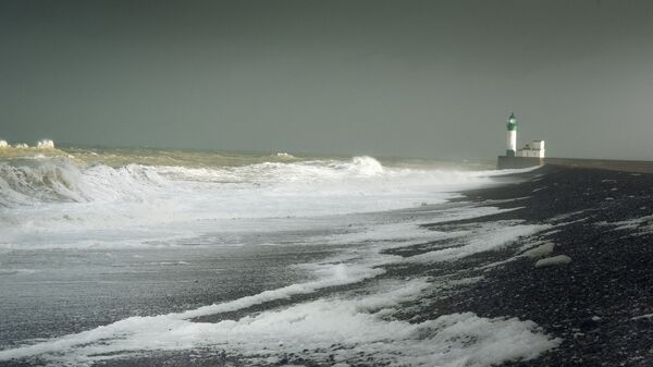 Вид моря. Архивное фото