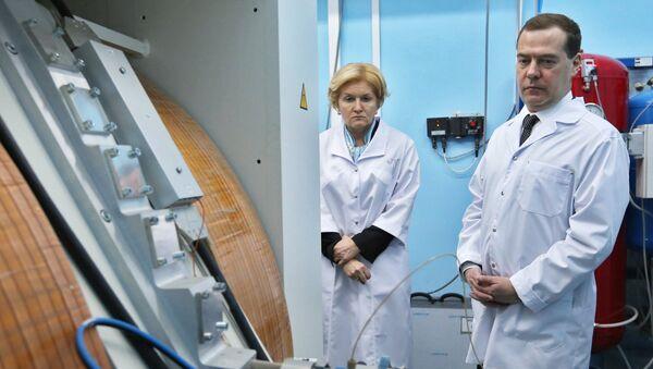 Рабочая поездка премьер-министра РФ Д.Медведева в Уфу