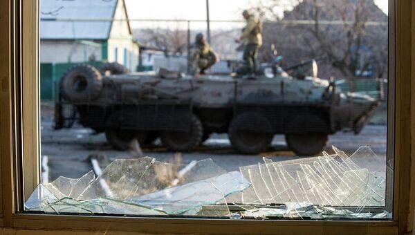 Украинские военные в Горловке, Донецкая область. Архивное фото