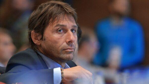 Главный тренер сборной Италии по футболу Антонио Конте. Архивное фото