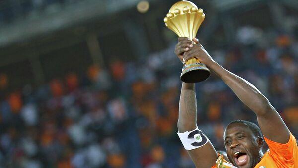 Капитан сборной Кот-д'Ивуара Яя Туре