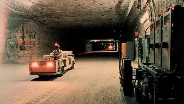 Хранилище ядерных отходов WIPP. Архивное фото