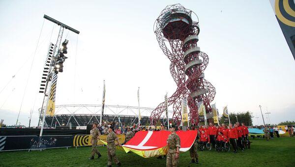 Церемония открытия Invictus Games в Олимпийском парке имени королевы Елизаветы II в Лондоне