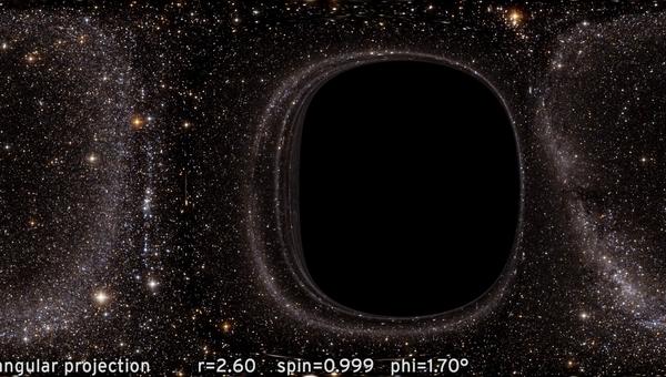 Черная дыра из Interstellar