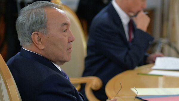 Президент Казахстана Нурсултан Назарбаев на заседании Совета коллективной безопасности Организации Договора о коллективной безопасности