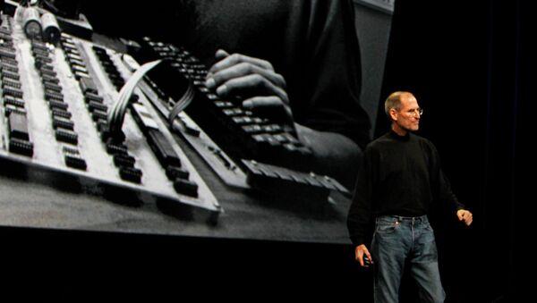 Один из основателей, председатель совета директоров и CEO корпорации Apple Стив Джобс. 2010 год