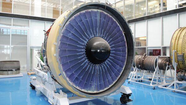 Двигатель самолета. Архивное фото