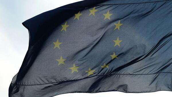 Флаги Евросоюза в Берлине. Архивное фото