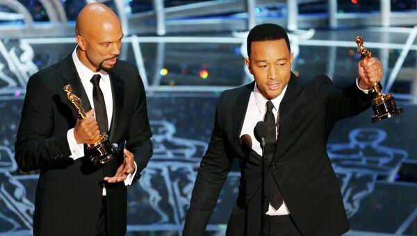 Исполнители песни Glory Джон Лэдженд и рэпер Коммон получили Оскар