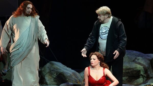 Премьера оперы Тангейзер в Новосибирске. Архивное фото