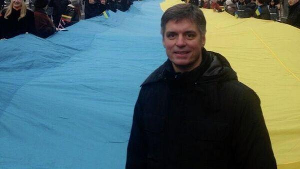 Замминистра иностранных дел Украины Вадим Пристайко. Архивное фото