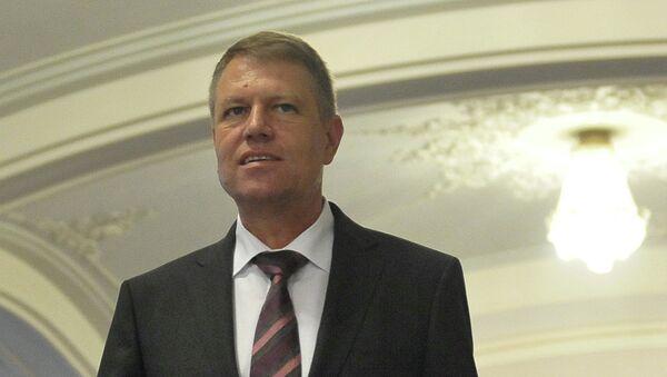 Президент Румынии Клаус Йоханнис