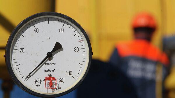Газовое хранилище недалеко от деревни Бильче, во Львовской области. Украина
