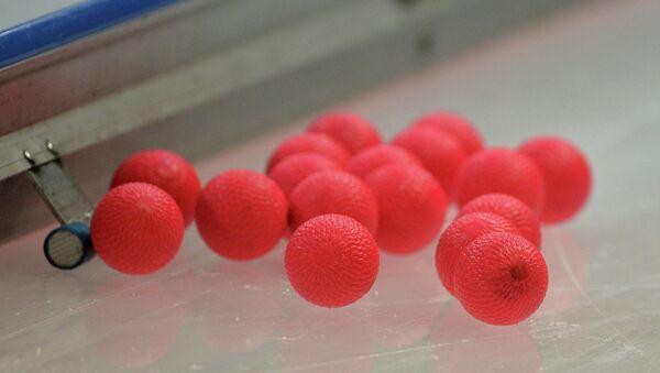 Мячи для бенди. Архивное фото