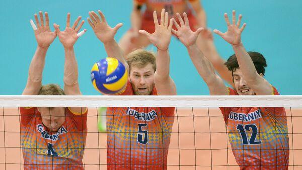 Волейболисты Губернии (Нижний Новгород). Архивное фото